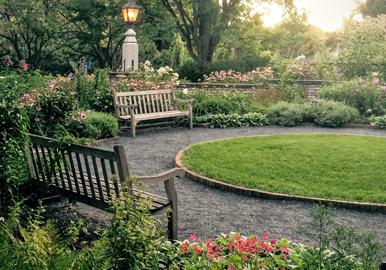 북유럽풍 정원