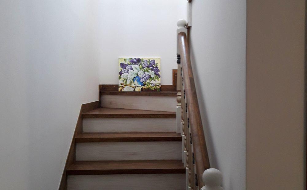 햇빛 :: 2층 계단