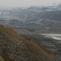 경인운하. 인천 계양 굴포천 방수로 공사 현장. 2009.5