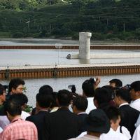 경남 창녕 함안보 공사현장. 2010