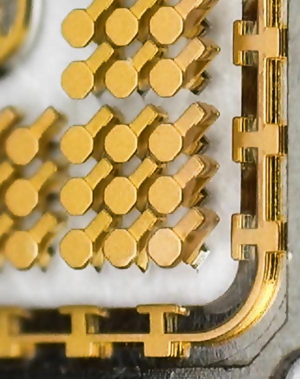 semiconductor tester 3D MEMS socket detail