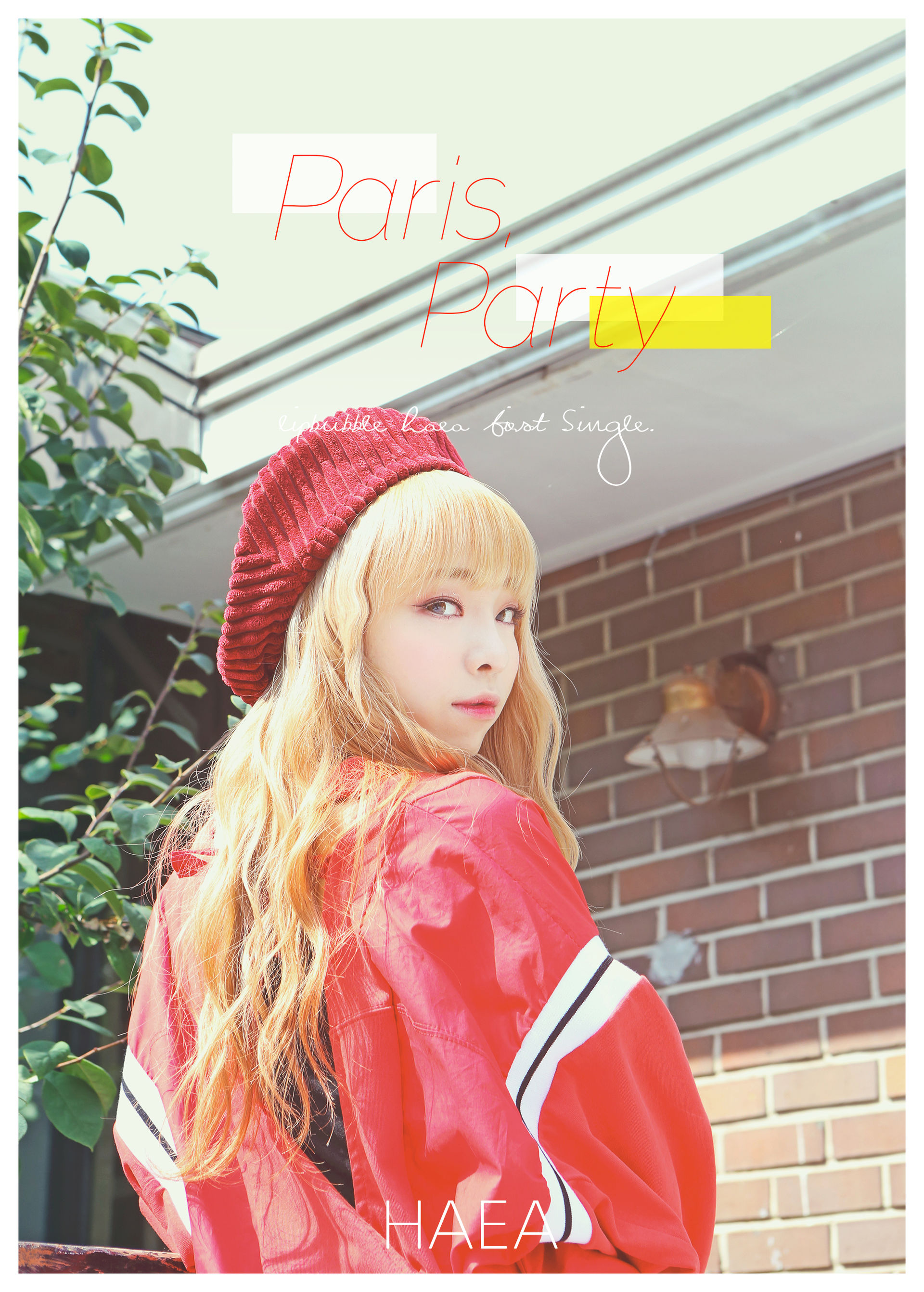 해아 1st Single 'Paris Party'