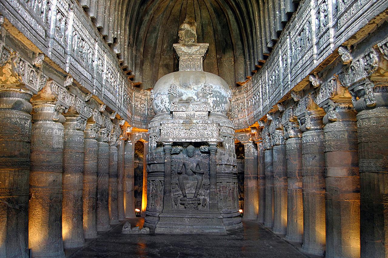 인도 아잔타 석굴사원 - 마음여행