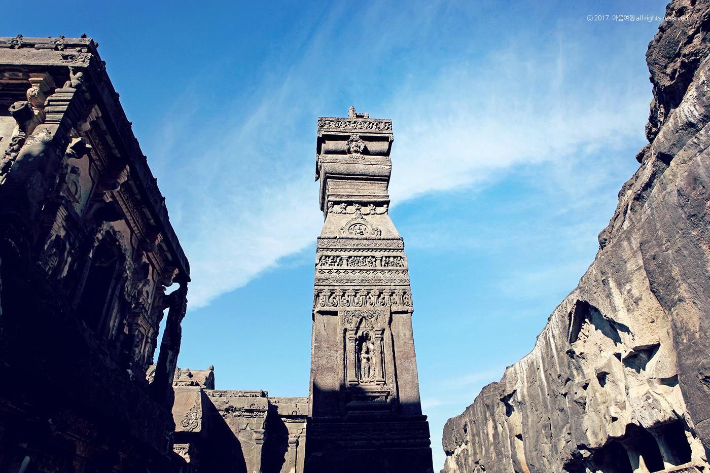 인도 3대 종교 석굴인 - 엘로라 석굴사원