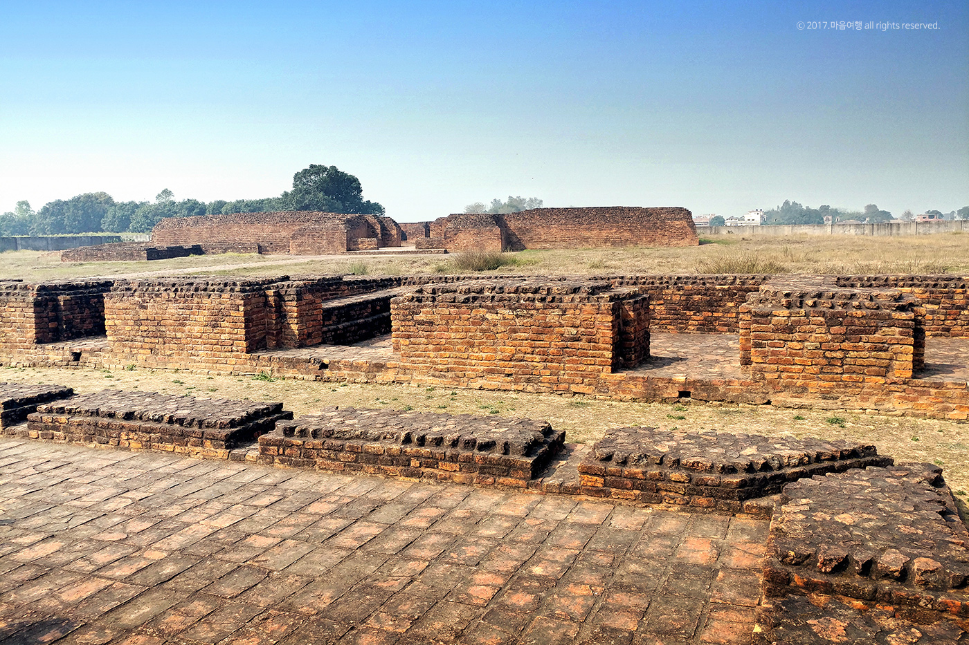 부처님의 고향 - 카필라성 왕궁 유적지