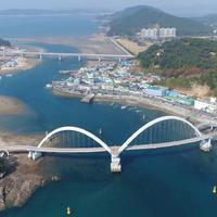 안흥내항 해양관광자원개발 해상 인도교 건설공사