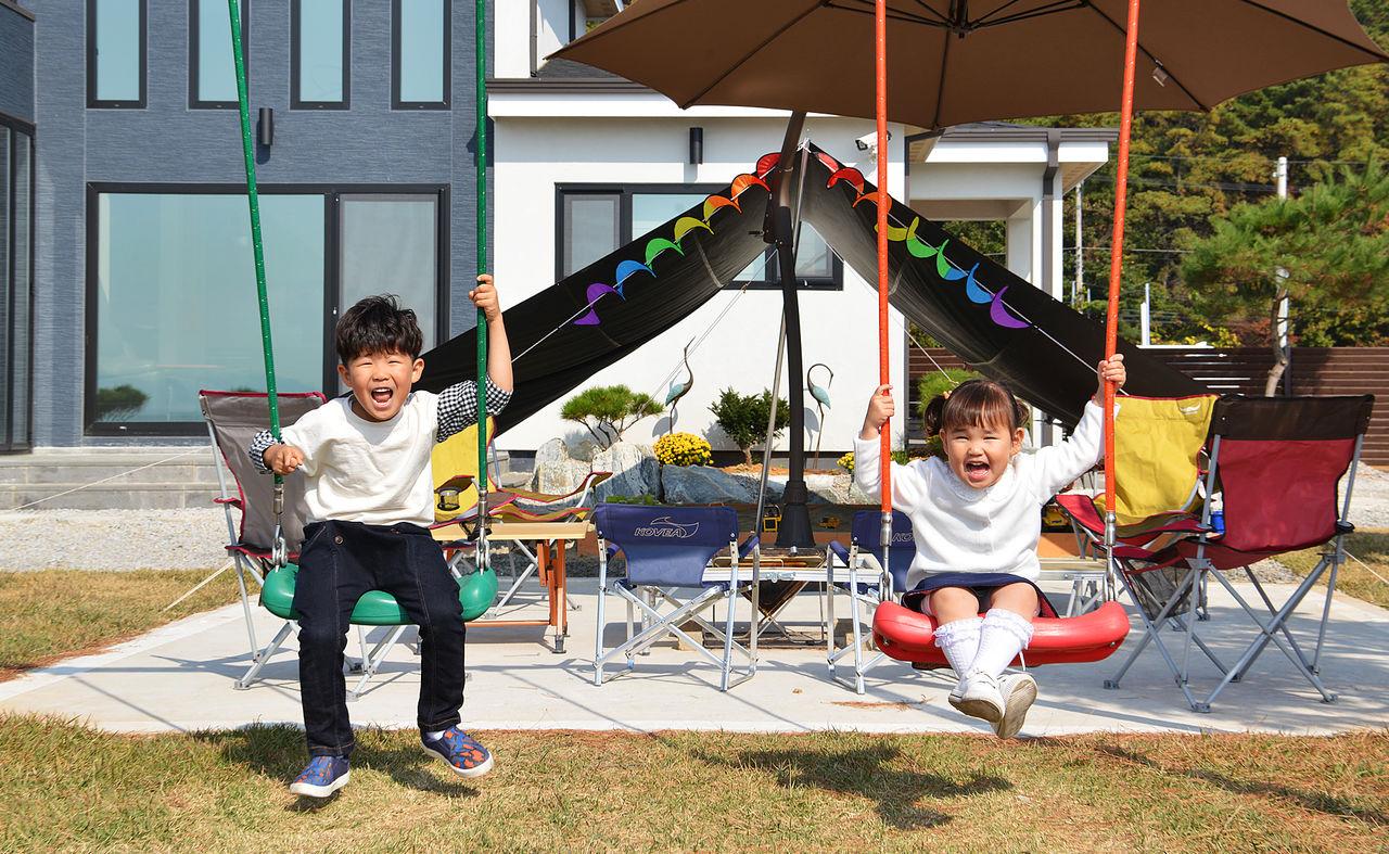 아이들의 행복한 시간을 위한 놀이터