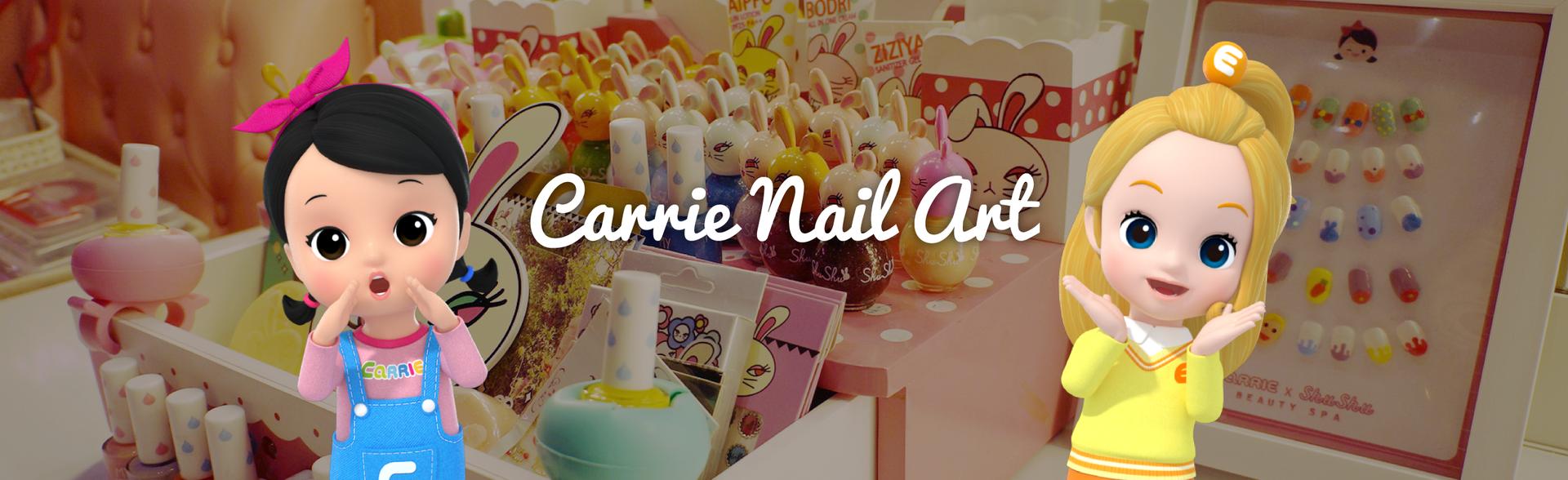 CARRIE NAIL ART