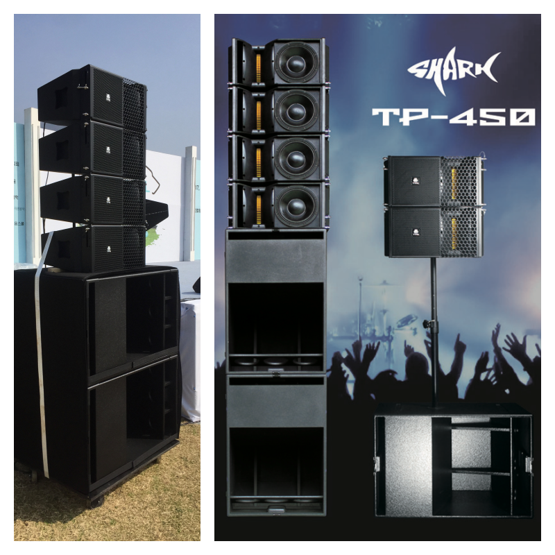 Main speaker&Subwoofer - TPA TP-450 & P181SP