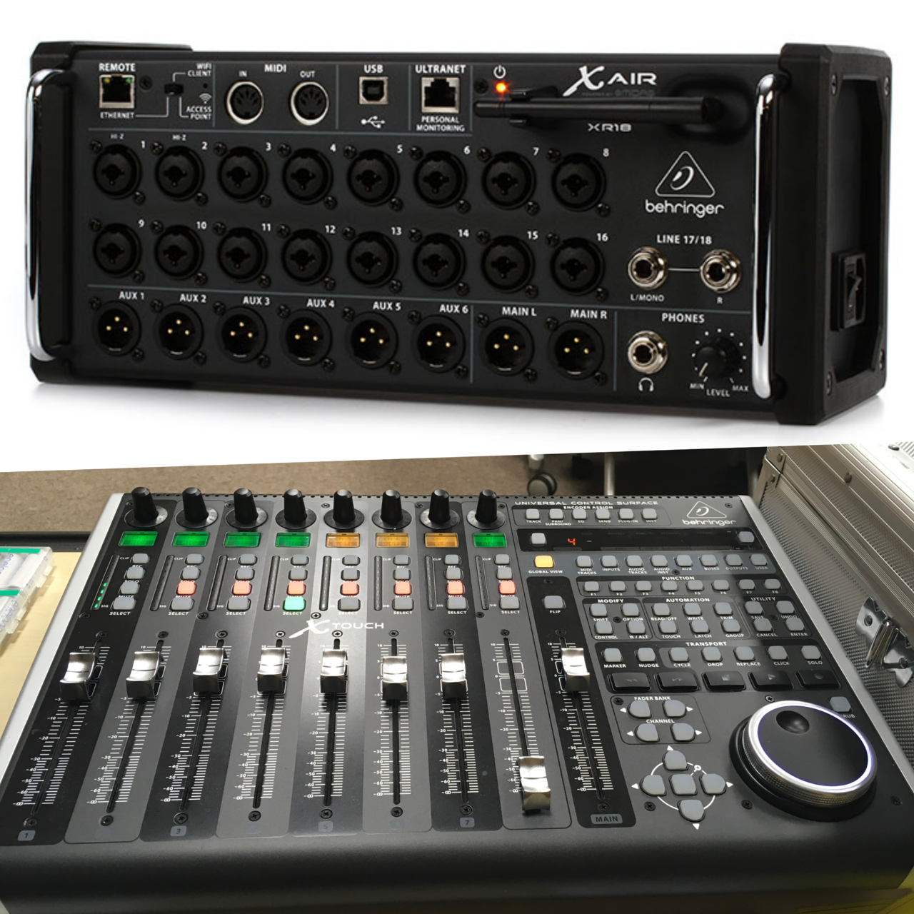 Mixing console - XAIR(18ch) & XTOUCH