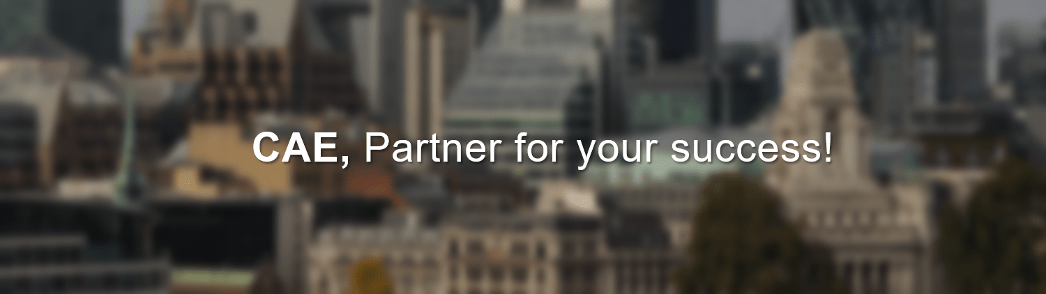 CAE, Partner for your success!