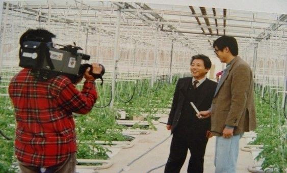 한국최초 유리온실보조사업 1992년 100% 자재수입