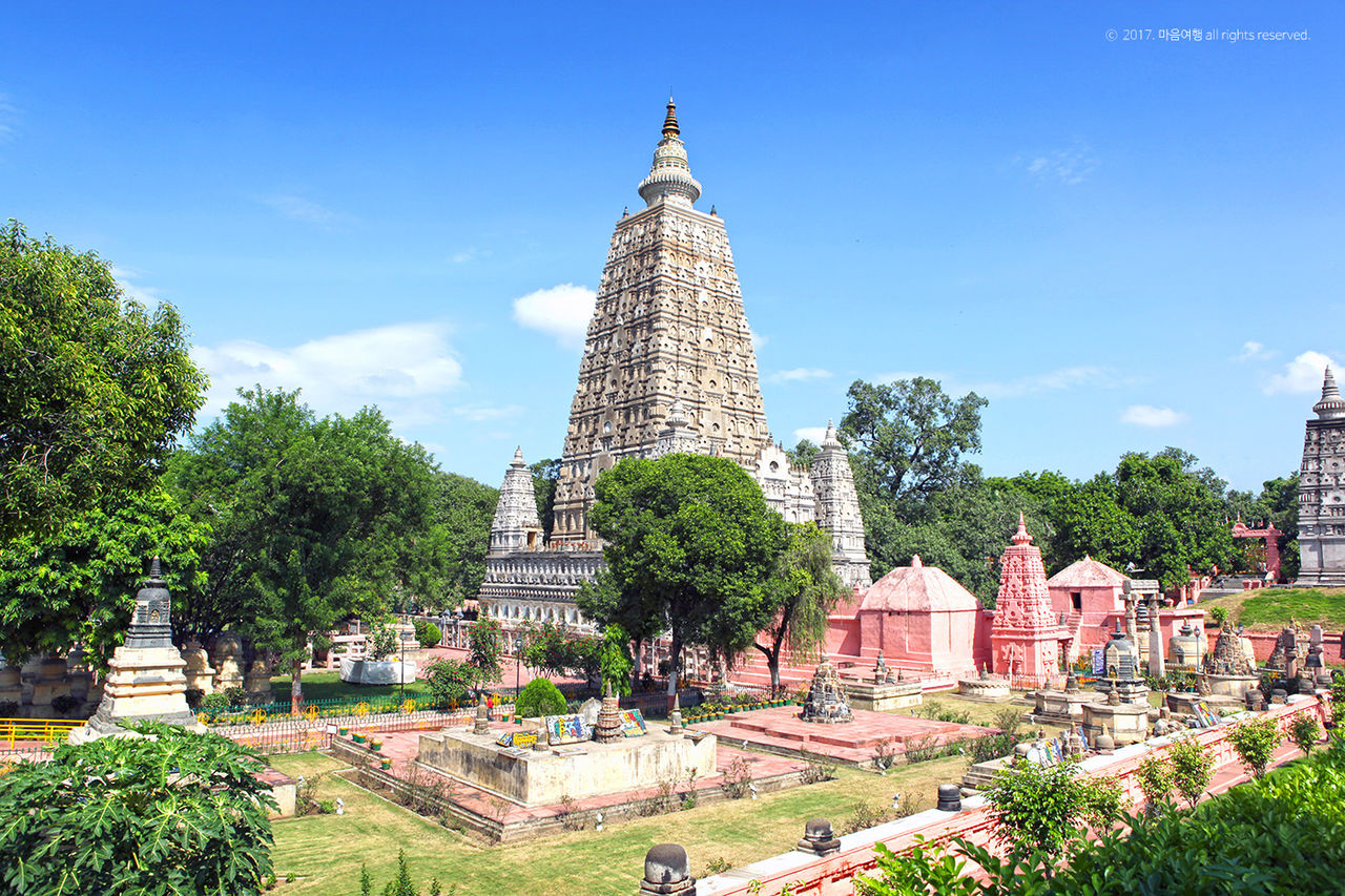 부처님 성도지인 인도 보드가야 마하보디사원 - 마음여행