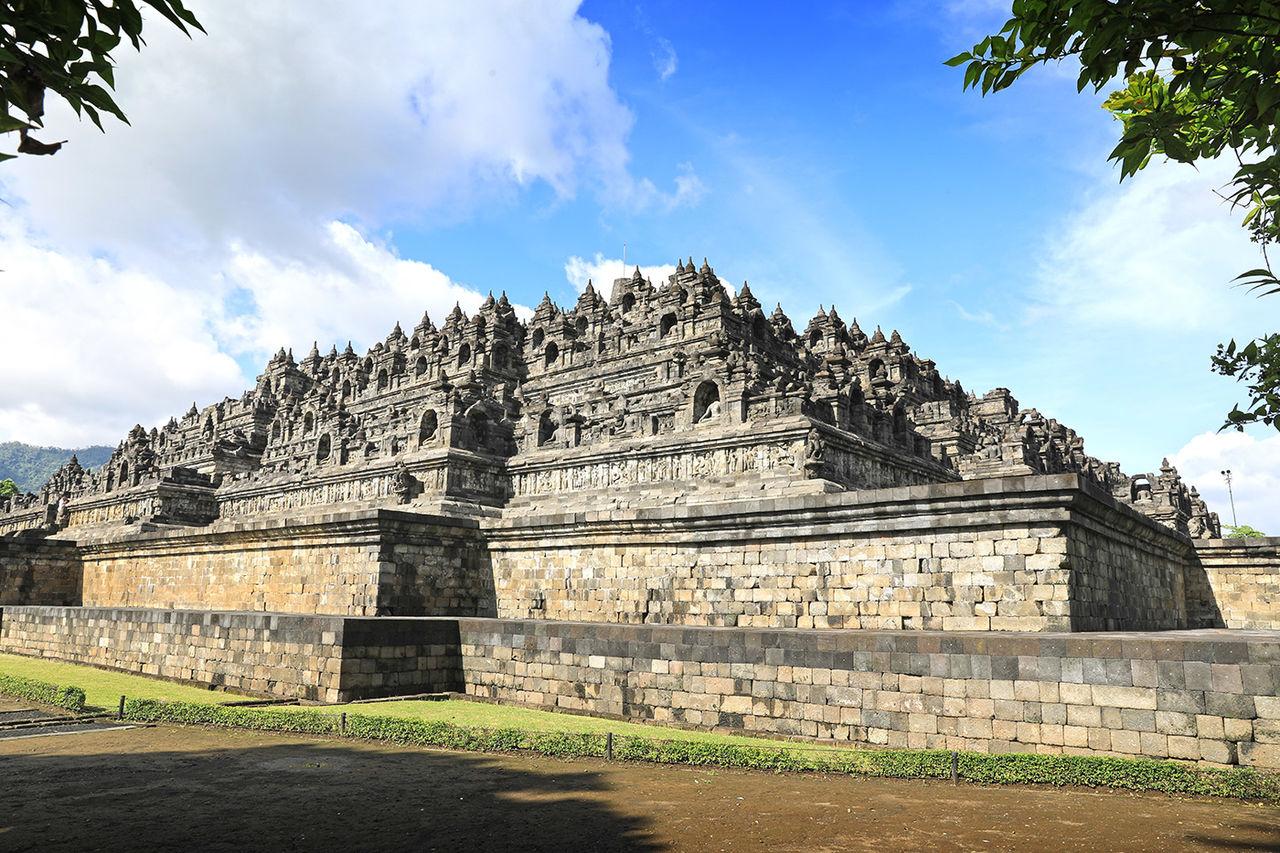 인도네시아 보로부두르 사원 - 마음여행