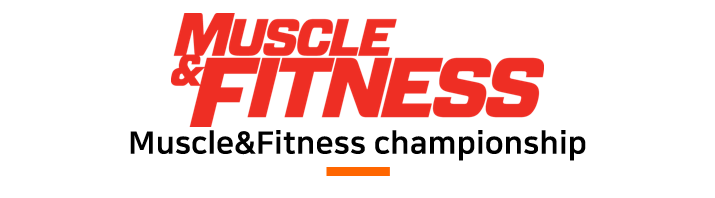 muscle fitness championship 머슬앤 피트니스 챔피언쉽 로고