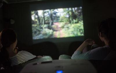 Beam projector<br>빔프로젝터<br>(허니블루객실)