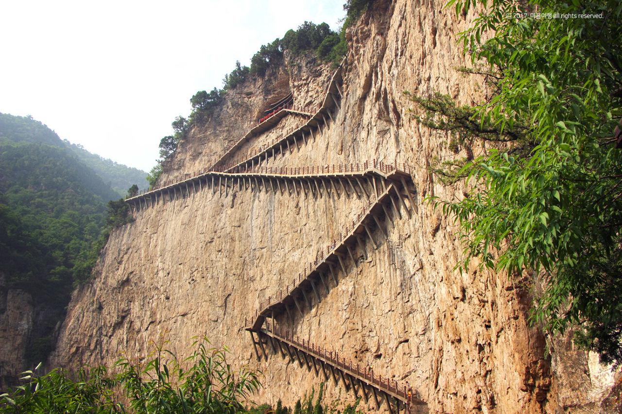 면산 - 정과사 계단로