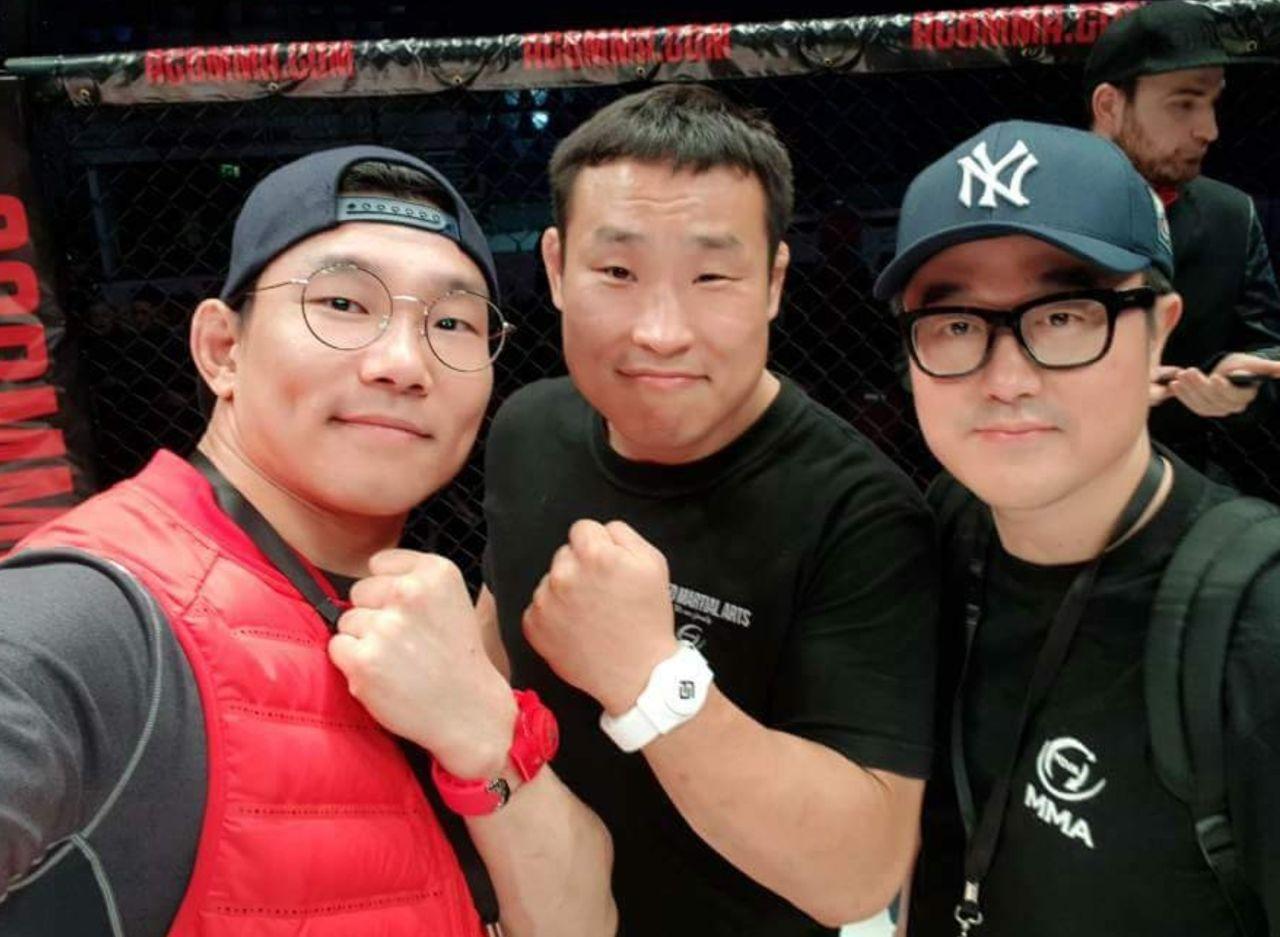MMA 김 재영 선수