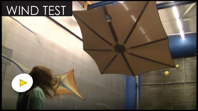 UMBROSA - Spectra Wind Tunner Test