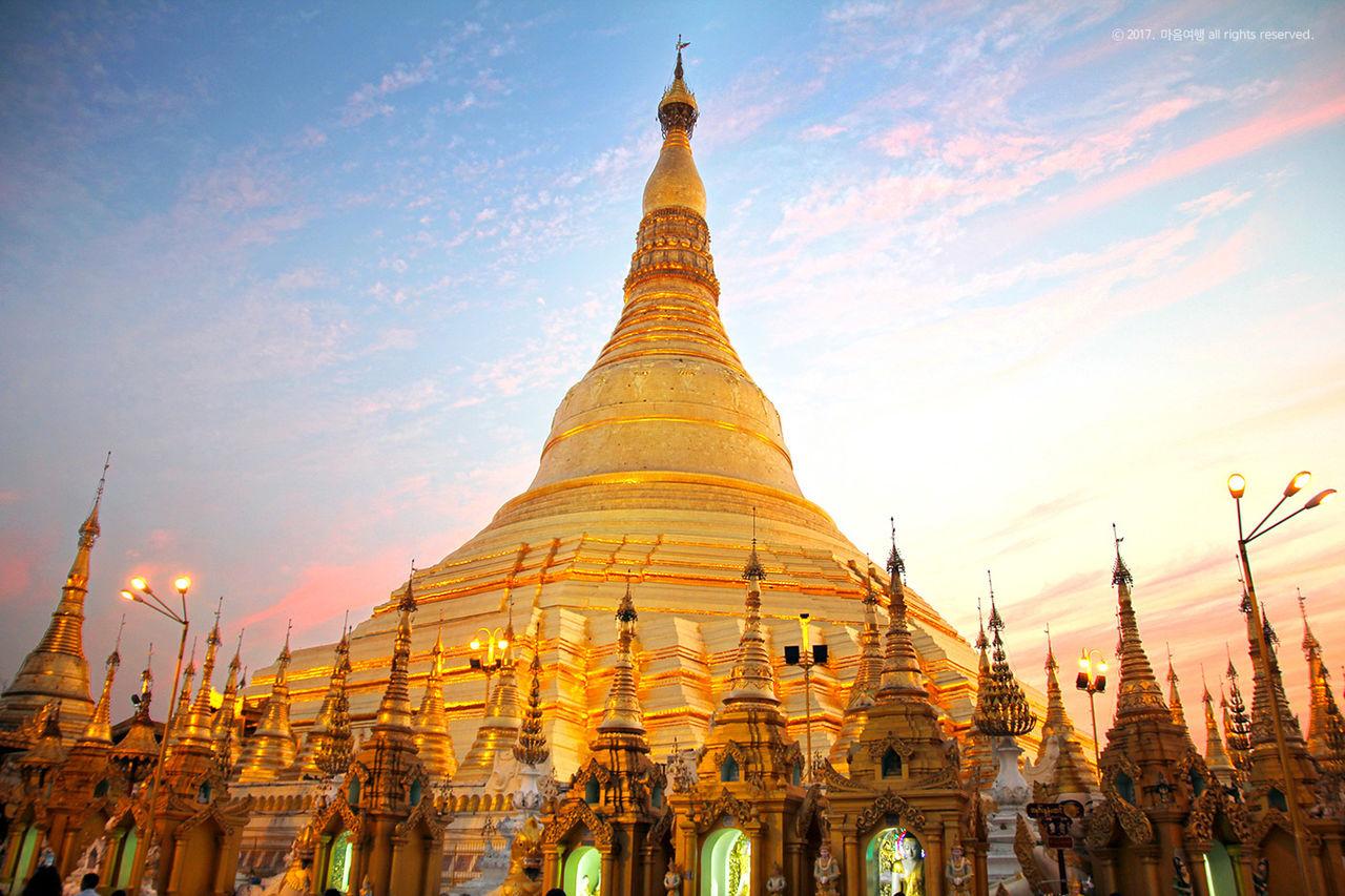 미얀마 쉐다곤 파고다
