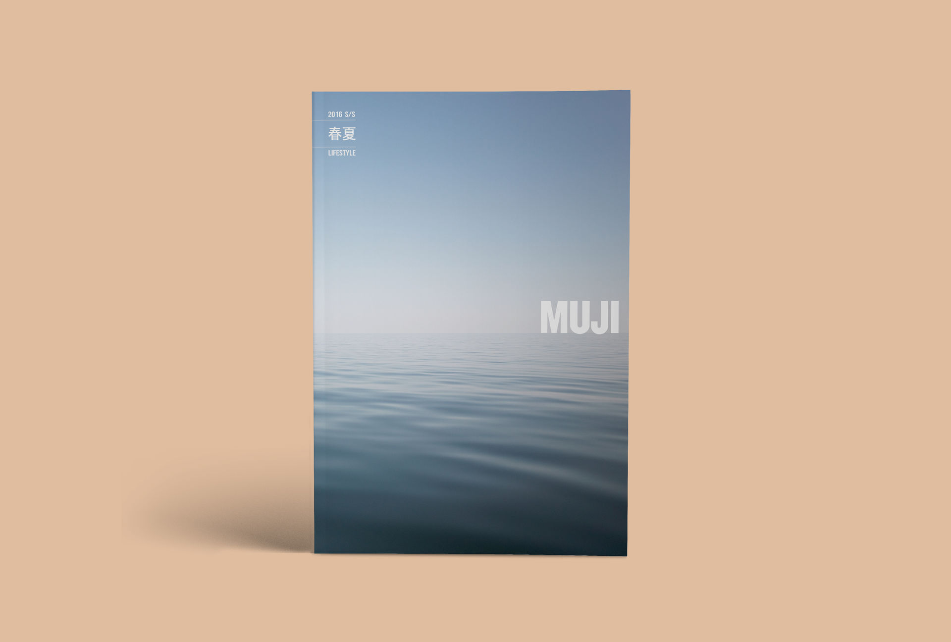 MUJI / PHOTOGRAPHY / GRAPHIC / TYPOGRAPHY