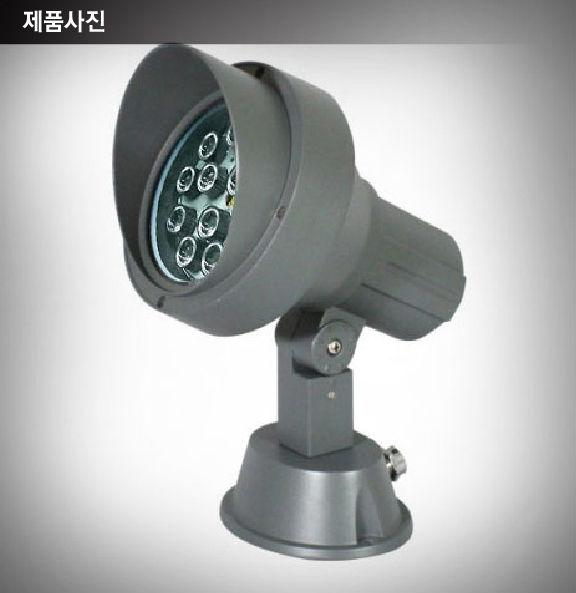 A/L 프레임(다크 그레이) / LED 12W램프(주광색) <br> Size 160 x190 x 180(mm)