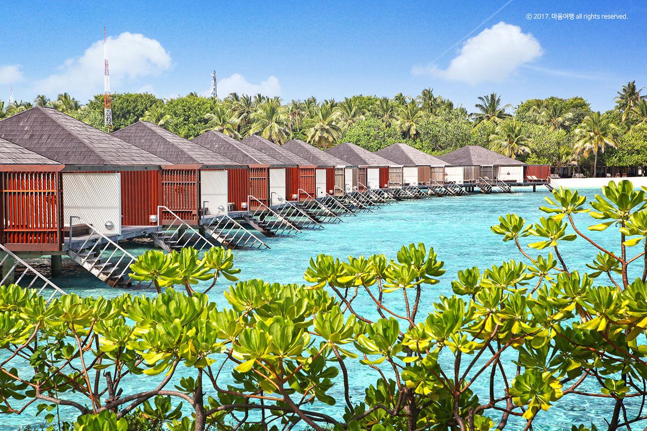 몰디브 해변 - 마음여행 실크로드여행사