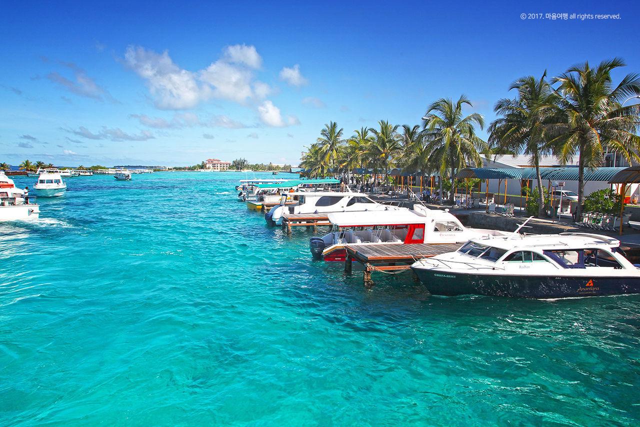 몰디브 해변