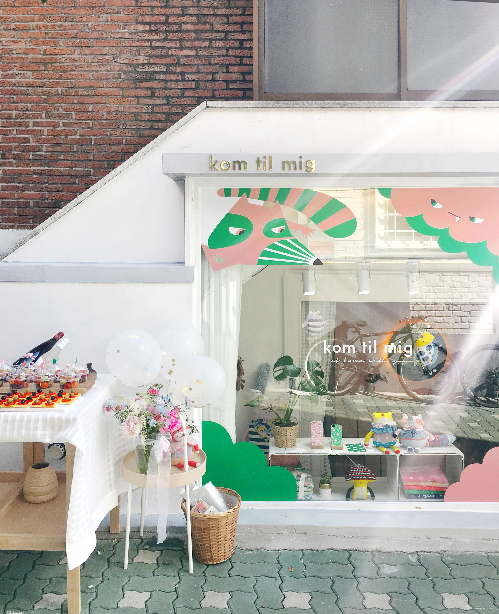 'Kom til mig' Showroom in Seoul
