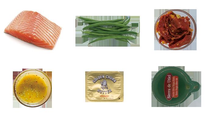 키플 Keple 지중해식연어스테이크 재료