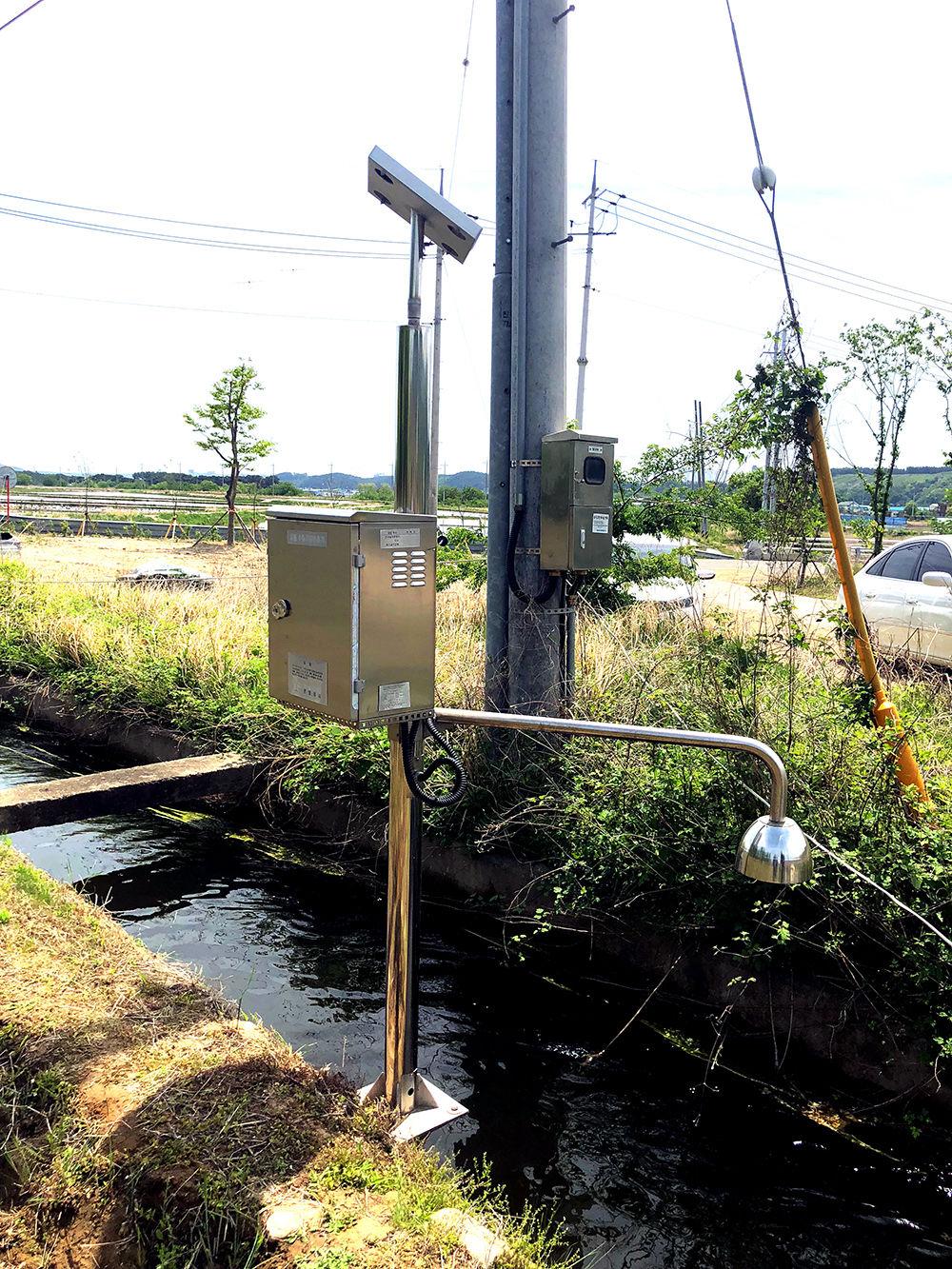 농수로 수위 자동측정기