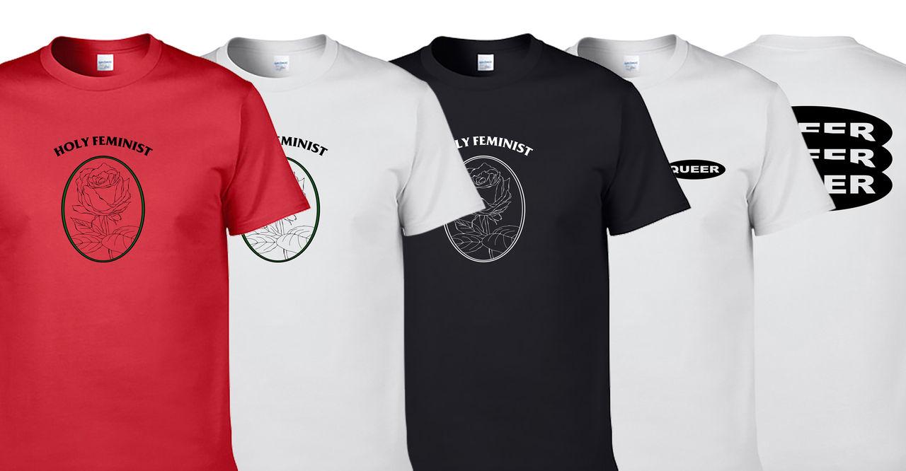 홀리페미&퀴어 T-shirts