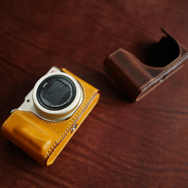 Blue Leica C-Lux Leather Case