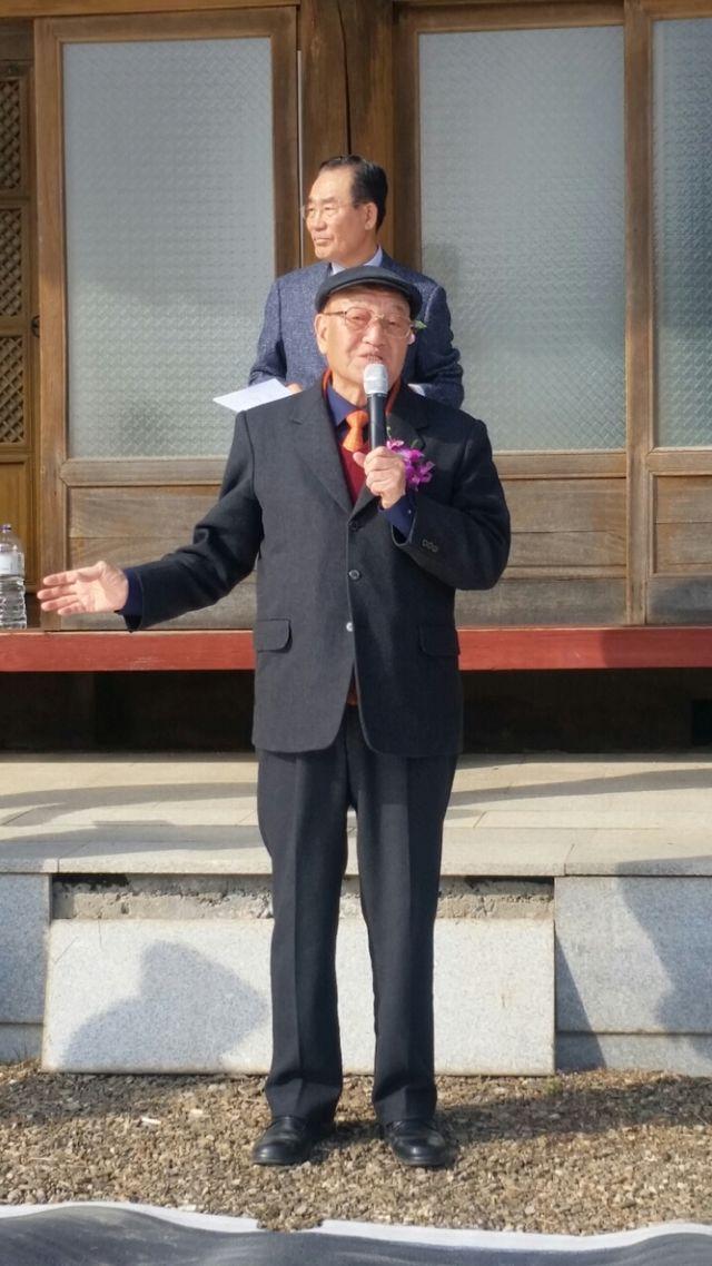 전회장님, 전서울시의회의장 재진님 인사