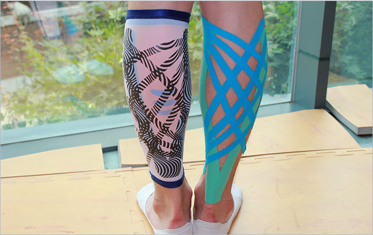 Left) WaveWear   Right)Kinesiology Taping