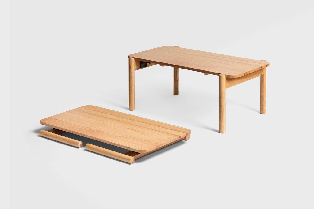 Arc Folding Table Natural 4 Size Magicvault