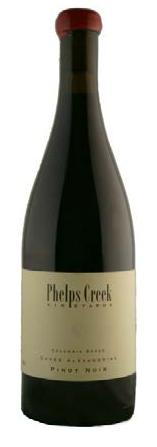 2014 Phelps Creek, Cuvee Alexandrine, Pinot Noir