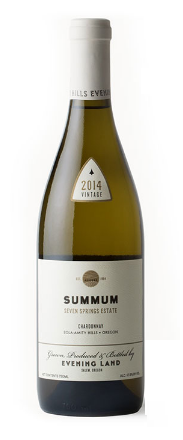 2014 Evening Land, Chardonnay 'Summum', Seven Springs