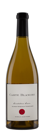 2015 Carte Blanche, Chardonnay