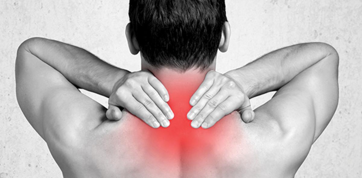 목 통증, 일자목