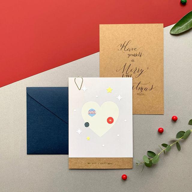 DIY Christmas Card Project