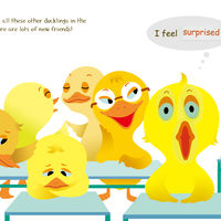 Duckling's First Day at School