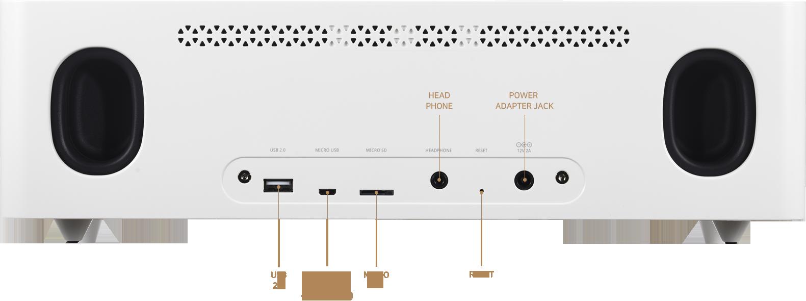 Hifi ROSE RS350 Premium Media Player Made In Korea 5c75dfecef752