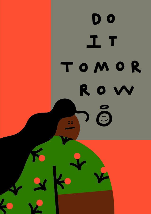 DO IT TOMORROW / Kim daye
