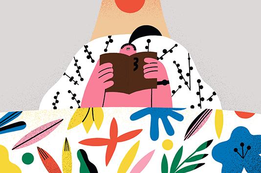 A woman who reads books / Kim daye