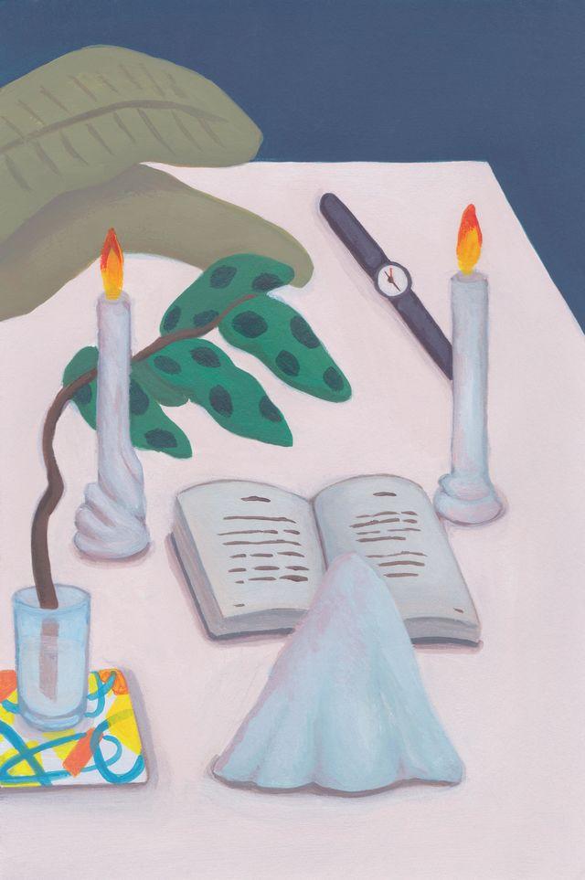 night reading / Ryu Eun Ji
