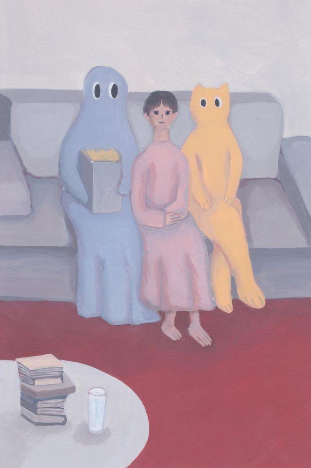 in the living room / Ryu Eun Ji