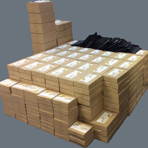 하루 최대 출고 수량 460Box / 판매수량 1,290pcs