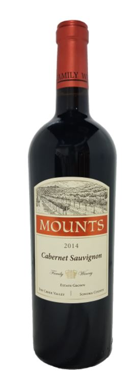 2015 Mounts,  Cabernet Sauvignon