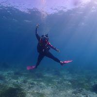 열대바다에서의 첫다이빙 야홋!!